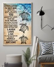 Laugh Love Live 16x24 Poster lifestyle-poster-1