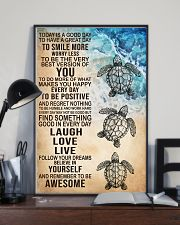 Laugh Love Live 16x24 Poster lifestyle-poster-2