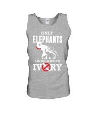 Only elephants Unisex Tank thumbnail