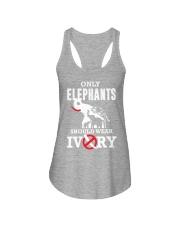 Only elephants Ladies Flowy Tank thumbnail