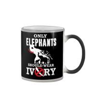 Only elephants Color Changing Mug thumbnail