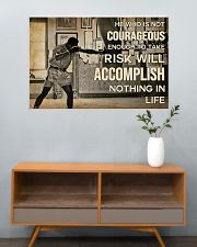 Boxing Accomplish Nothing In Life  36x24 Poster poster-landscape-36x24-lifestyle-21