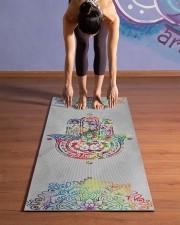Yoga Hamsa Yoga Mat 24x70 (vertical) aos-yoga-mat-lifestyle-25