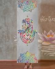 Yoga Hamsa Yoga Mat 24x70 (vertical) aos-yoga-mat-lifestyle-29