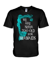 Mermaid  V-Neck T-Shirt thumbnail