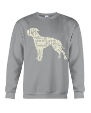 Life is better with american bulldogs around Crewneck Sweatshirt tile