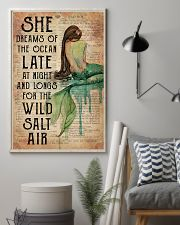 Mermaid She Dreams Of The Ocean 16x24 Poster lifestyle-poster-1