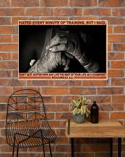 Boxing Hate Every Minite Of Training 36x24 Poster poster-landscape-36x24-lifestyle-20