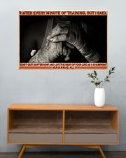 Boxing Hate Every Minite Of Training 36x24 Poster poster-landscape-36x24-lifestyle-21
