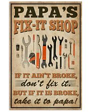 Family papa's Fix-it Shop 16x24 Poster front