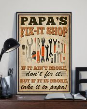 Family papa's Fix-it Shop 16x24 Poster lifestyle-poster-2
