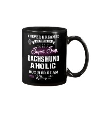 Super sexy dachshund Mug thumbnail