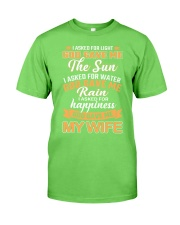 God Gave Me My Wife Classic T-Shirt front