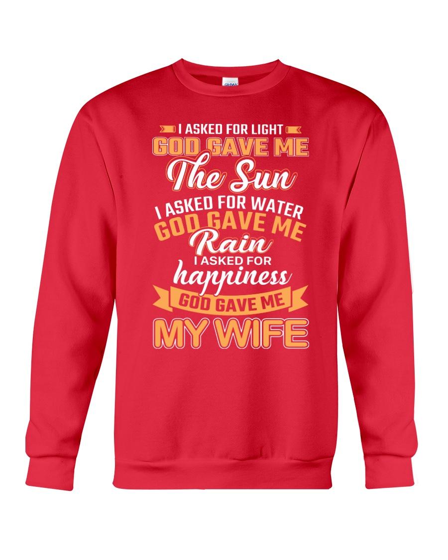 God Gave Me My Wife Crewneck Sweatshirt