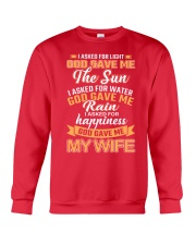 God Gave Me My Wife Crewneck Sweatshirt front