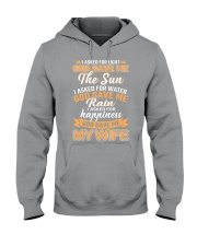 God Gave Me My Wife Hooded Sweatshirt thumbnail