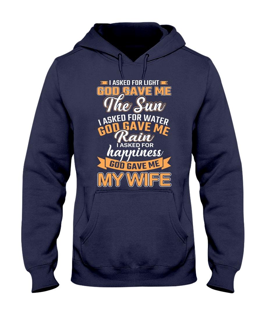 God Gave Me My Wife Hooded Sweatshirt