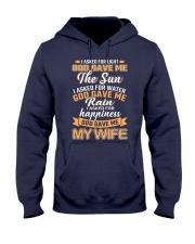 God Gave Me My Wife Hooded Sweatshirt front