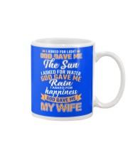 God gave me my Wife Mug front