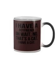 I have a cat Color Changing Mug thumbnail