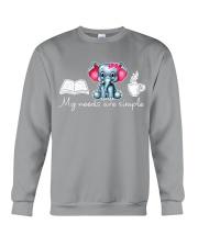 My needs are simple Crewneck Sweatshirt thumbnail