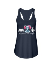 My needs are simple Ladies Flowy Tank front