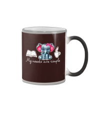 My needs are simple Color Changing Mug thumbnail