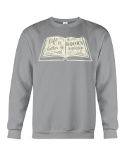 Life is better with books around Crewneck Sweatshirt thumbnail