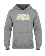 Life is better with books around Hooded Sweatshirt thumbnail