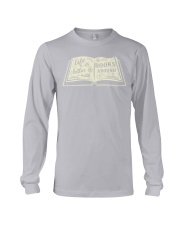 Life is better with books around Long Sleeve Tee thumbnail