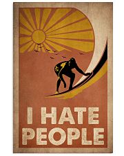 Surfing I Hate People 16x24 Poster front