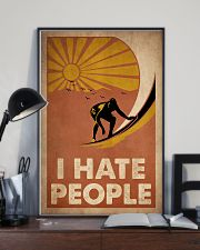 Surfing I Hate People 16x24 Poster lifestyle-poster-2