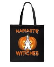 Namaste witches Tote Bag thumbnail