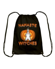 Namaste witches Drawstring Bag thumbnail