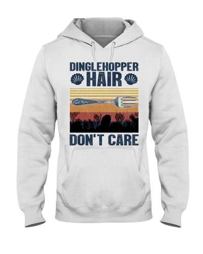 Mermaid Dinglehopper Hair Don't Care