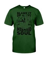 Blame it on my Mermaid Soul Classic T-Shirt tile