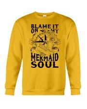 Blame it on my Mermaid Soul Crewneck Sweatshirt thumbnail