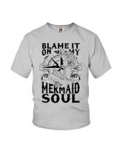 Blame it on my Mermaid Soul Youth T-Shirt thumbnail