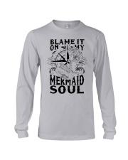 Blame it on my Mermaid Soul Long Sleeve Tee thumbnail