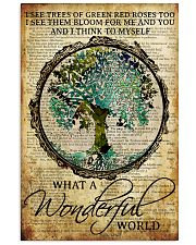 Camping What A Wonderful World 16x24 Poster front