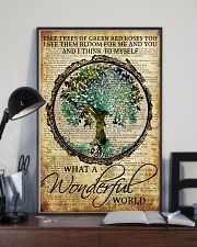 Camping What A Wonderful World 16x24 Poster lifestyle-poster-2