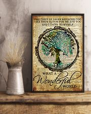 Camping What A Wonderful World 16x24 Poster lifestyle-poster-3