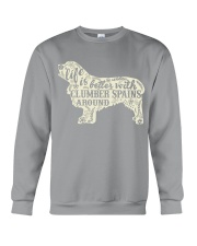 Life is better with clumber spains around Crewneck Sweatshirt thumbnail
