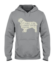 Life is better with clumber spains around Hooded Sweatshirt thumbnail