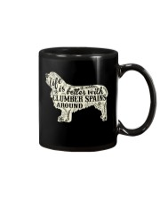 Life is better with clumber spains around Mug thumbnail
