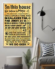In this house 11x17 Poster lifestyle-poster-1