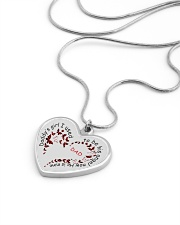 Family Daddy's Girl Metallic Heart Necklace aos-necklace-heart-metallic-lifestyle-05