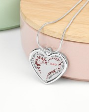 Family Daddy's Girl Metallic Heart Necklace aos-necklace-heart-metallic-lifestyle-09