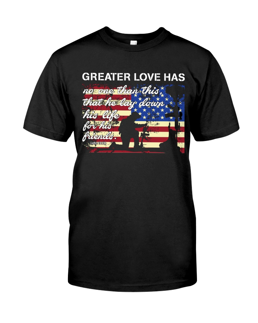 Greater Love  Classic T-Shirt