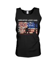 Greater Love  Unisex Tank thumbnail